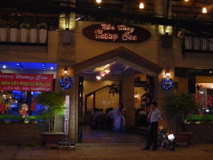 Nhà hàng Hương Cau với nhiều món đặc sản ngon